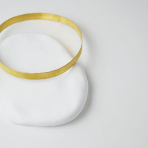 Gold Plated Brushed Full Bracelet