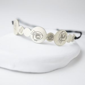 Sterling Silver Bubble Eyes Bracelet