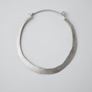 Sterling Silver Ancient Rustic Earring