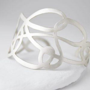 Sterling Silver Twirl Bracelet